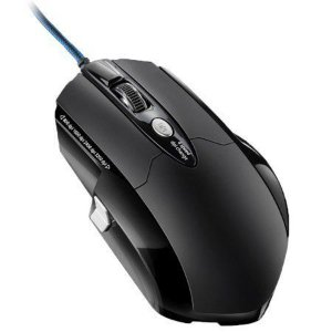 Mouse Gamer pro laser 8 botoes 3200 dpi preto usb - mo191