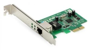 Adaptador de rede gigabit pci express tg-3468 10/100/1000mbp