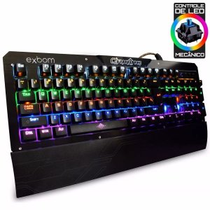 Teclado Gamer Mecanico Switch Blue Bk-GX1