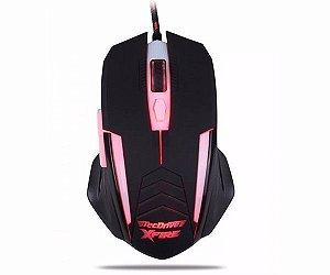 Mouse Gamer TecDrive XFire Shinigami 23200 DPI 7 Botões