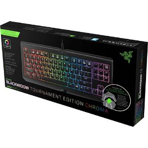Teclado Gamer Razer Blackwidow Tournament Chroma Stealth
