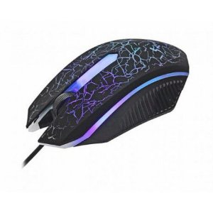 Mouse Gamer Knup Preto Kp-v14  com Led