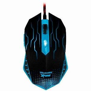 Mouse Gamer TecDrive XFire Wu Xi 3200 DPI 7 Botões