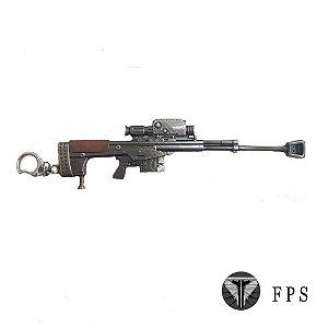 Chaveiro Gamer Fps Arma 06
