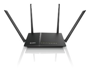 Roteador D-link wireless 4 portas Dual Band AC1200 DIR-815