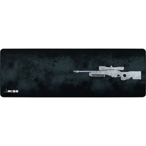 Mousepad Gamer Rise Mode Sniper, Speed, Extra Grande Cinza - Rg-Mp-06-Spg