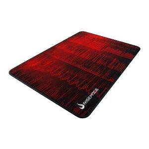 Mouse Pad Gamer Rise Mode Hacker Red Medio Borda Costurada (290x210mm) - RG-MP-04-HCKR