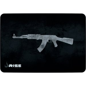 Mouse Pad Gamer Rise Mode Ak47 Grande Borda Costurada (420x290mm) - RG-MP-05-AK