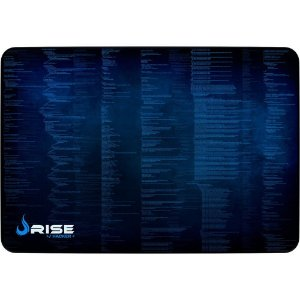 Mouse Pad Gamer Rise Mode Hacker Grande Borda Costurada (420x290mm) - RGMP05HCK