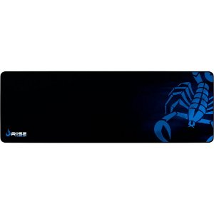 Mouse Pad Gamer Rise Mode Scorpion Extended Borda Costurada (900x300mm) - RG-MP-06-SK