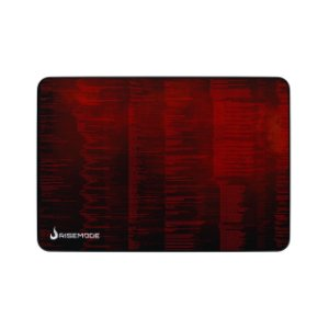 Mouse Pad Gamer Rise Mode Hacker Red Grande Borda Costurada (420x290mm) - RG-MP-05-HCKR