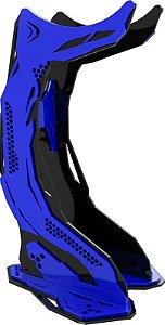 Suporte Headset Rise Mode Gamer Venon Pro V3, Preto e Azul Rm-vn-05-bb