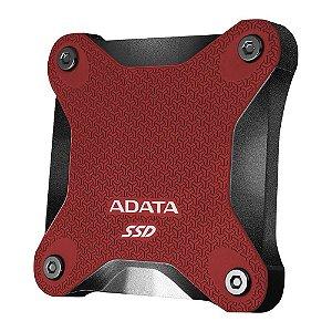 Ssd externo Adata 240gb Red SD600Q-240GU31-CRD