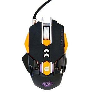 Mouse Gamer Dazz Thundertank 6200dpi Leitor Infravermelho