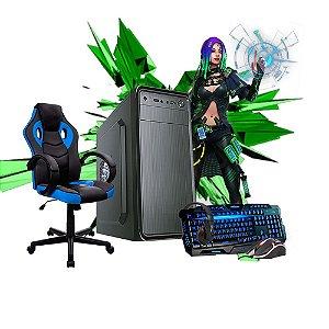 Combo Gamer- PC Ryzen R3 3200G Cadeira teclado e mouse headset