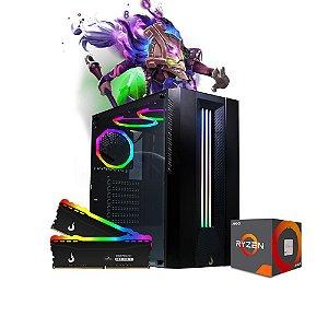 Computador Megatumii Gamer Spectrix RGB Amd Ryzen R3 3200G, 2x8gb Hd 500gb