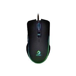 Mouse Gamer Usb Com Led Rgb Infokit 03052 - Gm-v550 6.400 DPI