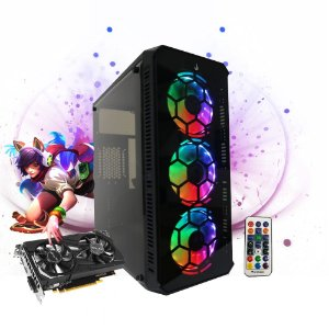 Pc Gamer Megatumii Tower 01 Intel I3 9100F, 2x4gb Hd 1TB Gtx 1650