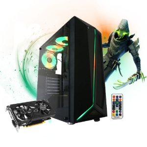 Pc Gamer Megatumi Glass 05 Intel I5 9400f, 2x4gb Hd 500gb Gtx 1650
