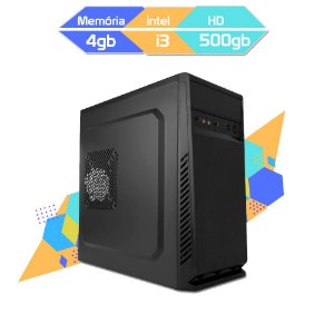 Computador Megatumii Home Office Core I3 2100 HD