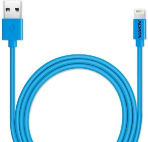 Cabo Micro Adata USB para Iphone Azul AMFIPL-100CM-CBL