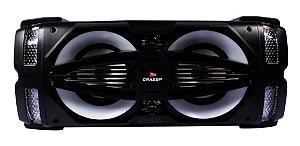 Caixa de Som Bluetooth Amplificada 80w Rms Usb Microfone D-D03