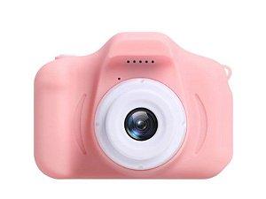 Câmera Digital Fotográfica Teen 5MP Efeito Animação - Rosa
