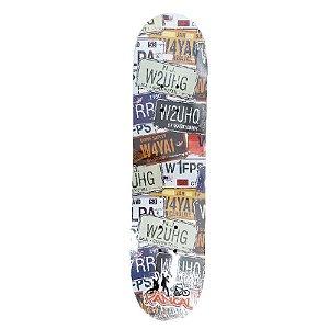 Skate Pequeno para Iniciantes Completo 45cm - SKE17889-PLA