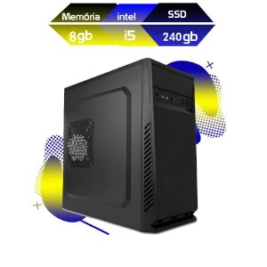 Computador Megatumii Home Office I5 8gb SSD 240gb