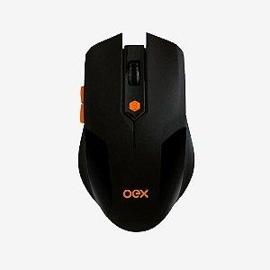 Mouse Sem Fio Gamer Vertex 6 Botões Ms400 1600dpi