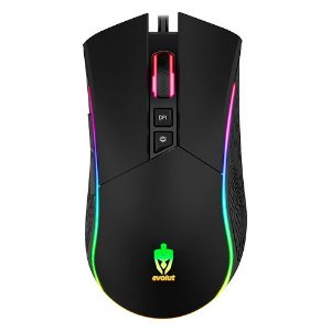 Mouse Gamer Skadi LED Rgb 4800 Dpi's