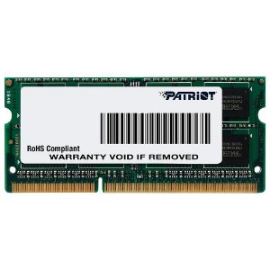 Memória Patriot Notebook 4gb 1600mhz DDR3