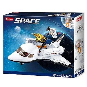Bloco de Montar Ônibus Espacial 231 peças - BR1034