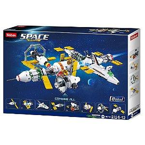 Bloco de Montar Estação Espacial 511 peças -BR1032