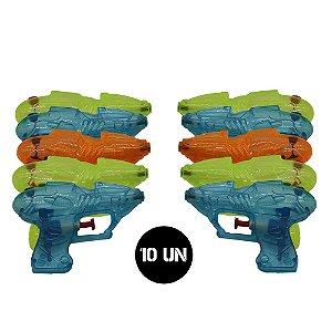 Kit Guerra Pistolinha Lança Água com 10un