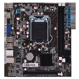 Placa Mãe Afox Intel H61 DDR3 2x8GB 1600MHz