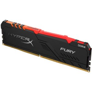 Memória Ram p/ Pc 8GB 2666MHz DDR4 CL16 HyperX Fury RGB