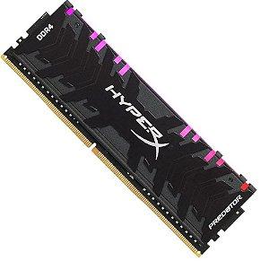 Memória Kingston HyperX Predator RGB 8GB 2933MHz DDR4 CL15