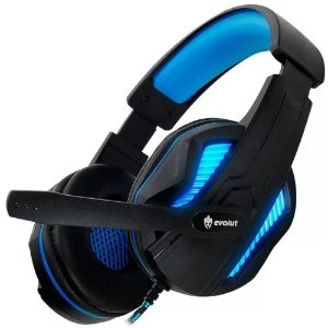 Headset Gamer Evolut Thoth Azul  - EG305BL