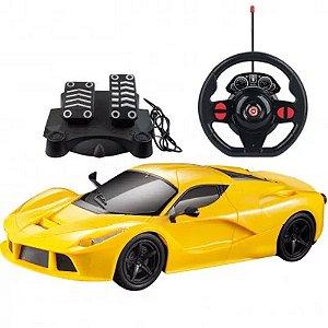 Carrinhos De Controle Remoto Racing Control SpeedX Amarelo