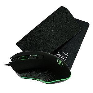 Kit Gamer Death Fire Mouse 3200dpi + Mousepad