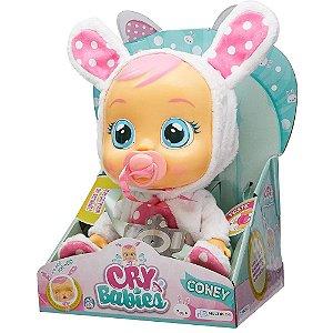 Boneca Cry Babies Coney Chora de Verdade - Lágrimas +4 anos