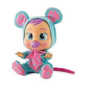 Boneca Cry Babies Lala Chora de Verdade - Lágrimas +4 anos