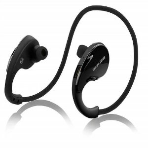 Fone de Ouvido Bluetooth Esportivo Sports Arco Preto