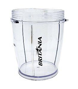 Copo menor | Liquidificador Britania Fit Inox - 063101013 / 063102013