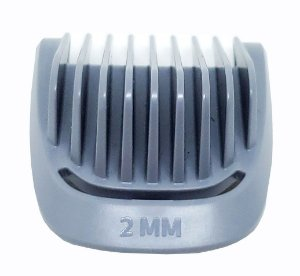 Pente 2mm barba  | Aparador MG7715 / MG7730 / MG3711 / MG3712 / MG3721 / MG3731 / MG3748  Philips