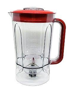 Copo Vermelho | Liquidificador Philco PLQ1010 - PLQ950 - PLQ800 - PH TOUCH
