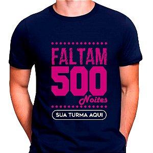 Camiseta 500 dias