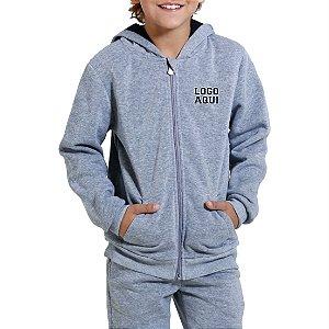 Blusa de Moletom Escolar Infantil - com logomarca