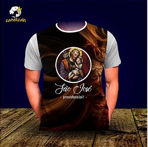 """Camiseta """"São José Providenciai!"""""""